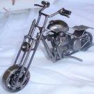 Decorative metal motorcycle