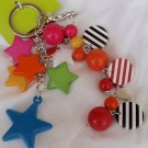 Colorful charms key holder