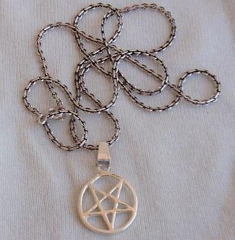 Peace silver pendant  B
