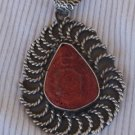 Red sea stone pendant  P50