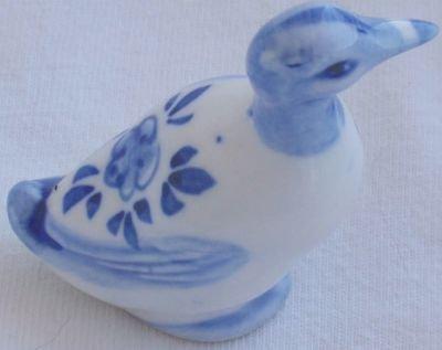 Porcelain duck miniature