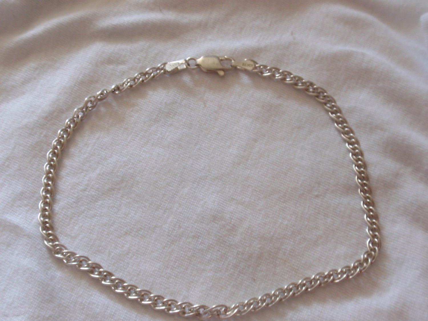 Anklet silver chain