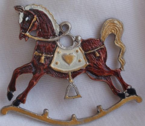 Metal miniature horse children stories