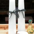 White Altar Candles Set of 2