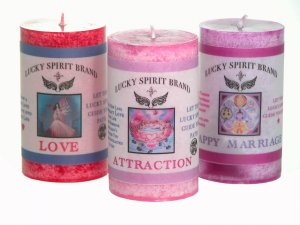Spell Candles - Choose from 44 Spell and Ritual Intentions