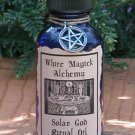 Solar God Ritual/Natural Perfume Oil - White Magick Alchemy