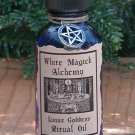 Lunar Goddess Ritual/Natural Perfume Oil - White Magick Alchemy