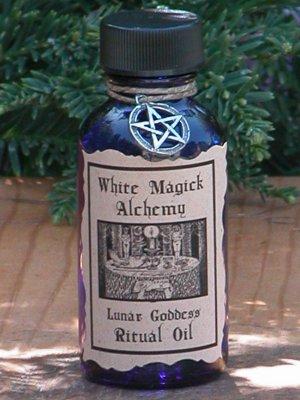 Lunar Goddess Ritual/Natural Perfume Oil - White Magick Alchemy