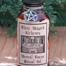 Mental Focus Ritual/Natural Perfume Oil - White Magick Alchemy