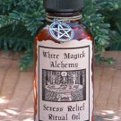 Stress Relief Ritual/Natural Perfume Oil - White Magick Alchemy
