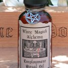 Employment Ritual/Natural Perfume Oil - White Magick Alchemy