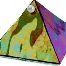 Black Diamond Glass Pyramid  - 2 in. - Metaphysical