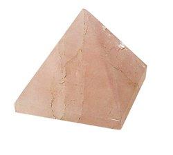 Rose Quartz Stone Pyramid Solid  25-30 mm Metaphysical