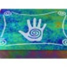 Black Diamond Etched Hand Tarot Box - Metaphysical