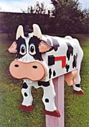 Mailboxes - Cow mailbox