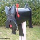 Mailboxes - Scottish terrier mailbox
