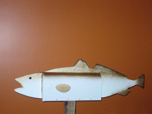 Mailboxes - Speckled Trout mailbox