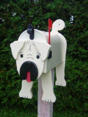 Pug mailbox