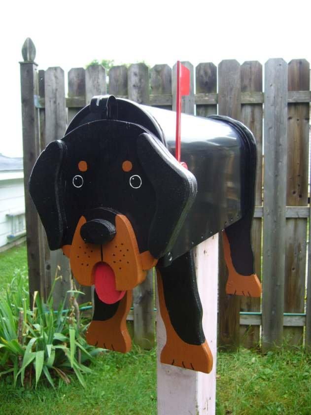 Rottweiler mailbox
