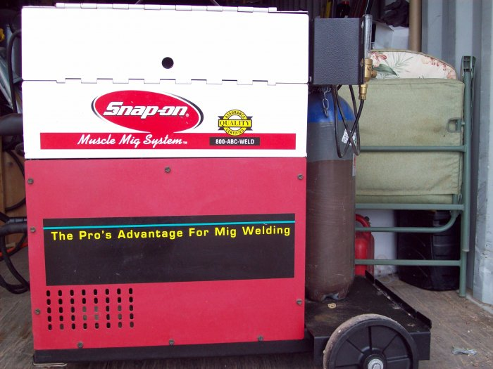 SNAP-ON  MM350XL Muscle MIG Welder