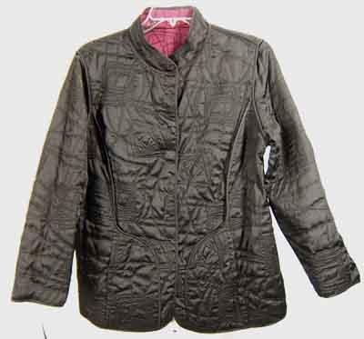 $148 Vikki Vi Silk Oriental Styled Reversible Jacket Plus Size OX