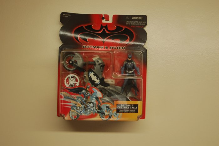 Kenner Batman and Robin Batgirl's Icestrike Cycle Action Figure