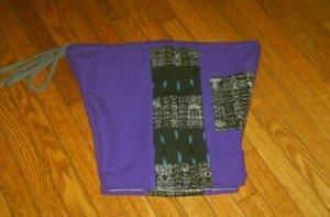 Purple Guatemalan Shorts