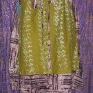 Earthy African Batik Skirt