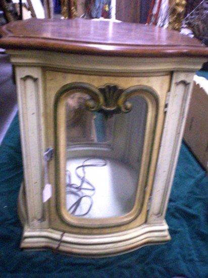 621 Antique Display Cabinet