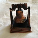 Liberty Bell replica copper pencil sharpener patriotic desk accessory 1049vf