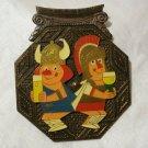1974 Souvenir Cologne Carnival Koln Karnival hang or use as paperweight 1060vf