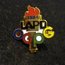 1984 Los Angeles Olympic Games Planning Group lapel pin LAPD OGPG 1094vf