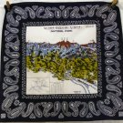 National Park souvenir scarf bandanna kerchief cotton Dong-a 1176vf