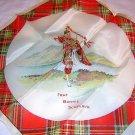 Vintage or antique souvenir hanky Frae Bonnie Scotland 1202vf