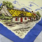 Robert Bobby Burns commemorative souvenir scarf antique 1225vf