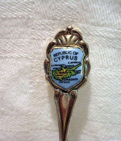 Republic of Cyprus souvenir spoon vintage excellent condition 1243vf