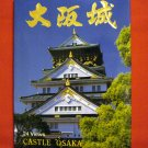 Folder of 24 postcard views of Castle Osaka Japan 1266vf