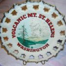 Volcanic Mt. St. Helens Washington plate vintage 1290vf