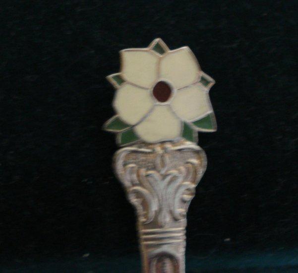Souvenir spoon from Port McNeill BC chrome plate vintage1350vf
