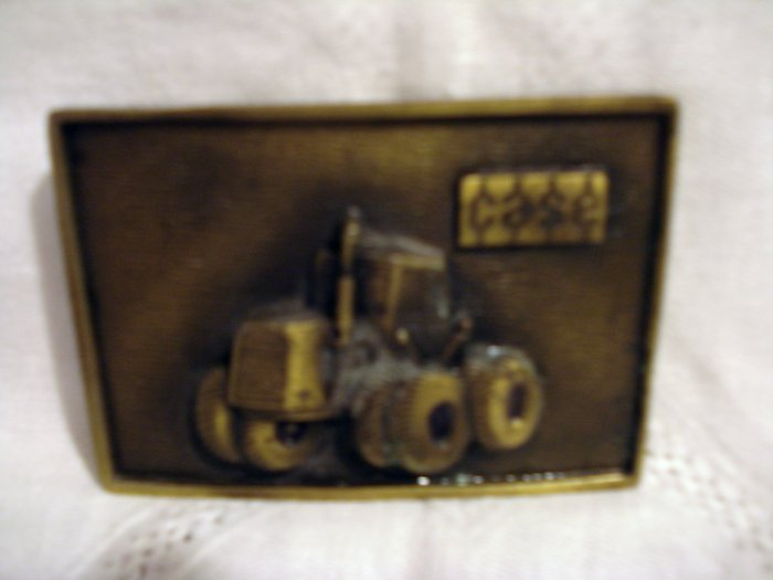 Case tractor brass belt buckle vintage1353vf