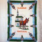 Algarve Portugal souvenir towel all cotton great vintage 1452vf