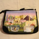 Welcome to Las Vegas wristlet or washbag with attached mirror MGM preowned 1469vf