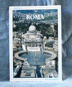 10 Rome souvenir postcards photos 1989 pre-owned unused 1518vf