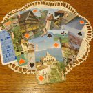 Double bridge deck playing cards souvenir of Switzerland as new vintage 1584vf