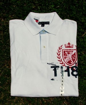 Tommy Hilfiger Golf Shirt....Size L
