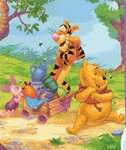 Disney Winnie the Pooh Micro Fiber Blanket