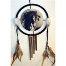 Horse dream catcher with wind chime
