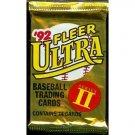 1992 Fleer Ultra Series II Baseball Trading Cards Unopened Hobby Pack (14 cards per pack) NEW