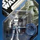 Hasbro Star Wars 30th Anniversary Action Figure Saga 2007 #9 Stormtrooper McQuarrie Concept NEW