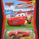 DISNEY PIXAR CARS 1:55 Impound Lightning McQueen #73 (Chase) Race O Rama Series NO Confetti Package